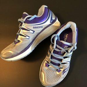 Saucony hurricane ISO 4 running shoe